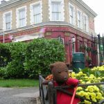 Bearsac in Albert Sq. Garden