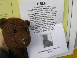 Rescue Bearsac from Debra appeal poster
