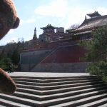 Bearsac in front of Summer Palace