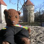 Bearsac in front of Kiek in de kok