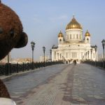 Bearsac beside Cathedral of Christ the Saviour