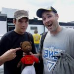 Sam Attwater and DJ Fenton with Bearsac