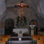 Internal photo of Sziklatemplom (Cave Church)