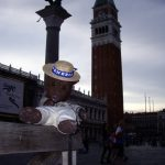 Bearsac in foreground of San Marco Piazza