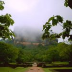 Misty Sigiriya Rock